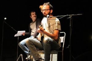 photo de répétition; musicien: Yann Dupont